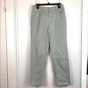 Tommy Hilfiger Green Boot Cut Jeans Size 10